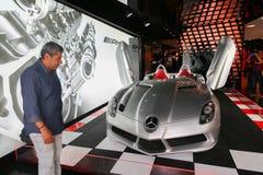 Mercedes i Paris Arkivfoton