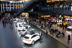 Mercedes IAA Frankfurt Royalty Free Stock Photo