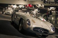 Mercedes Lineup Stock Photo