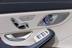 Mercedes-Maybach door detail Royalty Free Stock Images