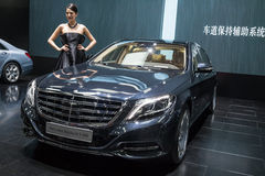 Mercedes Maybach S600 Arkivfoto