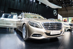 Mercedes-Maybach S600, Motor Show Geneva 2015. Stock Photos