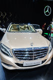 Mercedes-Maybach S600, Motor Show Geneva 2015. Royalty Free Stock Photography