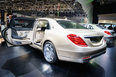 Mercedes-Maybach S600, Motor Show Geneve 2015. Stock Images