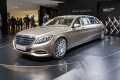 2015 Mercedes-Maybach S600 Pullman Stock Foto's