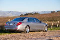 Mercedes-Maybach S 600 2015 Test Drive Royalty Free Stock Photography