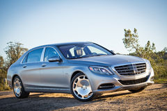 Mercedes-Maybach S 600 2015 Test Drive Stock Photos