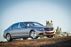Mercedes-Maybach S 600 2015 Test Drive Royalty Free Stock Image