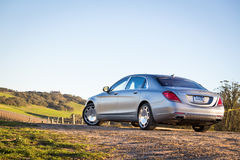 Mercedes-Maybach S 600 2015 Test Drive Royalty Free Stock Images
