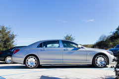 Mercedes-Maybach S 600 2015 Test Drive Stock Image