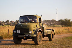 Mercedes military truck Stock Photography
