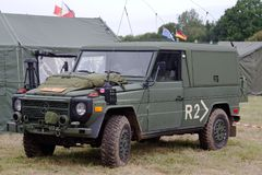 Mercedes military vehicle Stock Photo