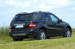 mercedes ml royaltyfria foton