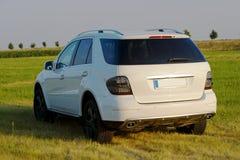 Mercedes ml von der Rückseite Lizenzfreies Stockbild