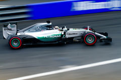 Mercedes Monaco Grand Prix 2015. Mercedes Formula1 Team in Monaco Grand Prix 23 May 2015 Stock Photo