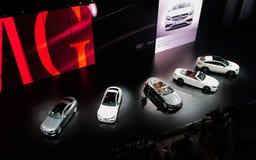 Mercedes mostra nos carros de IAA Imagens de Stock