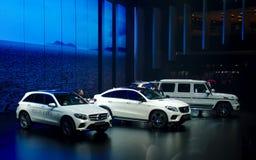 Mercedes mostra nos carros de IAA Fotografia de Stock