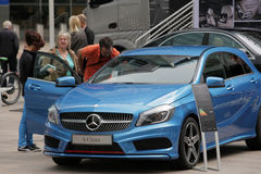 Mercedes at Motorexpo in London Royalty Free Stock Photo