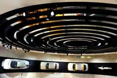 Mercedes-Museum Lizenzfreies Stockfoto