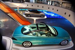 Mercedes-Museum Lizenzfreie Stockfotos