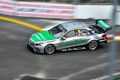 Mercedes nel Gran Premio della città Fotografia Stock