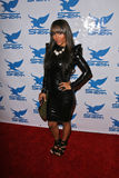 Mercedes Nelson la nuit Fshion de Shiekh à l'extérieur Party, des montagnes, Hollywood, CA 09-10-10 Photographie stock libre de droits