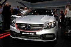 Mercedes novo AMG C 63 S Imagem de Stock Royalty Free
