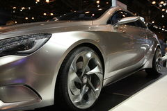 Mercedes at NY International Auto Show Royalty Free Stock Photography