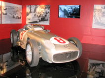 Mercedes old race car Stock Image