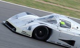 Mercedes Racing Car, obra clásica 2014 de Silverstone Imagen de archivo