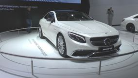 Mercedes S65 AMG new S Class Coupe Stock Image