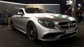 Mercedes S Coupe Royalty Free Stock Photos