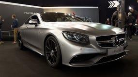 Mercedes S kupé royaltyfria foton