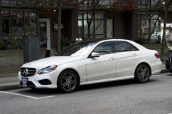 Mercedes sedan Royalty Free Stock Images