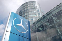 Mercedes sign Royalty Free Stock Photography