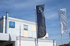 Mercedes Royalty Free Stock Photo