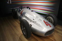 Mercedes Silberpfeil (silver arrow) Stock Images