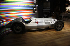 Mercedes Silberpfeil (silver arrow) Royalty Free Stock Photos