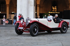 Mercedes SKK at 1000 Miglia Royalty Free Stock Images