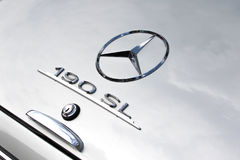 Mercedes 190 SL - παλαιό χρονόμετρο Στοκ εικόνες με δικαίωμα ελεύθερης χρήσης