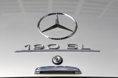 Mercedes 190 SL - παλαιό χρονόμετρο Στοκ εικόνα με δικαίωμα ελεύθερης χρήσης