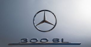 Mercedes 300 SL Photo stock