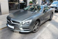 MERCEDES SL Images stock