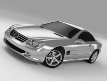 Mercedes SL 500 Stock Photos