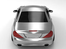 Mercedes SL 500. Realistic render three-dimensional model of the silvery Mercedes SL 500 Stock Photos