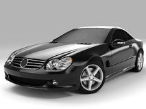 Mercedes SL 500 Foto de Stock Royalty Free