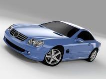 Mercedes SL 500 stock photo