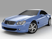Mercedes SL 500 Stock Photography