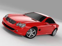 Mercedes SL 500 Royalty Free Stock Photos