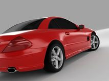 Mercedes SL 500 royalty free stock photography